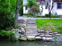 stone walkways